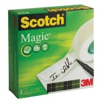 Páska lepící 3M Scotch Magic krabička 12mm x 33m