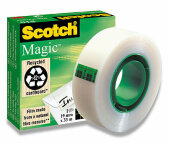 Páska lepící 3M Scotch Magic krabička 19mm x 33m